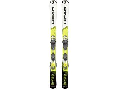 "HEAD Kinder Skier ""Supershape Team SLR Pro"" + Bindung ""LRX 7,5 GW"" Gelb"