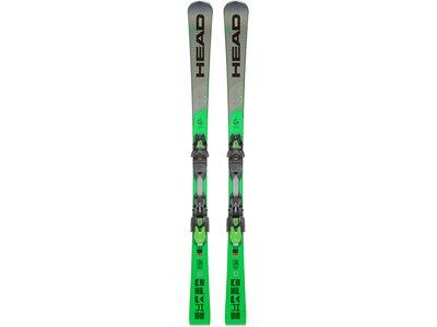 "HEAD Slalom-Skier ""S-Shape Magnum"" inkl. Bindung Grün"