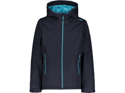 CMP Mädchen Outdoor-Jacke mit Kapuze Blau