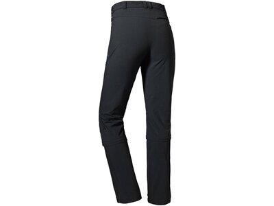 SCHÖFFEL Damen Zipp Off Pants Engadin1 Zip Off Schwarz