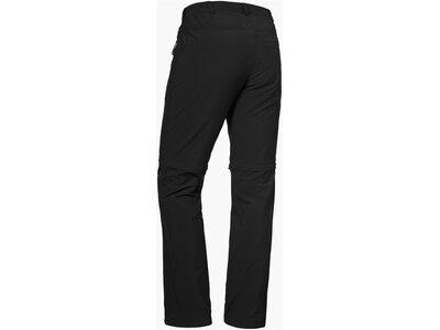 SCHÖFFEL Herren Zipp Off Pants Koper1 Zip Off Schwarz
