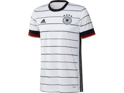 """ADIDAS Herren Fußballtrikot """"Deutschland Heim"""" Replica Grau"""