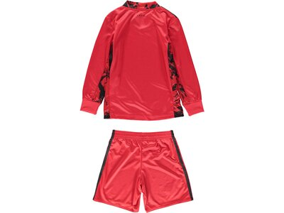 adidas Kinder DFB Torwart Mini-Heimausrüstung Rot