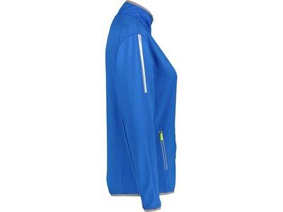 DUNLOP Damen Tennis Trainingsjacke Blau