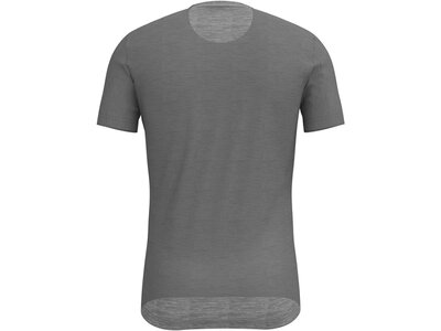 ODLO Herren Unterhemd Kurzarm Grau