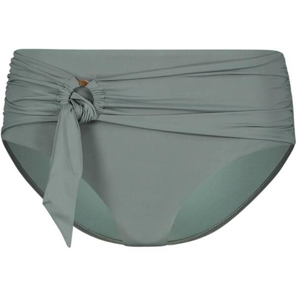 Bademode - SEAFOLLY Damen Bikinihose Wide Side Retro › Grün  - Onlineshop Intersport