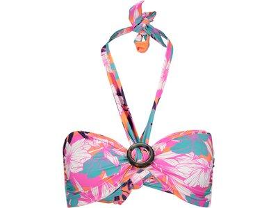 "SEAFOLLY Damen Bikinioberteil ""Ring Front Bandeau"" Pink"