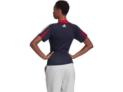 "ADIDAS Damen T-Shirt ""Aeroready"" Schwarz"