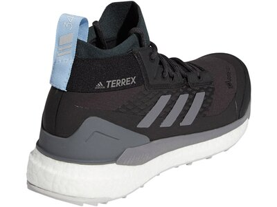 adidas Damen TERREX Free Hiker GORE-TEX Wanderschuh Grau