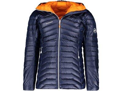 """MAMMUT Damen Jacke """"Eigerjoch Advanced IN Hooded Jacket"""" Blau"""