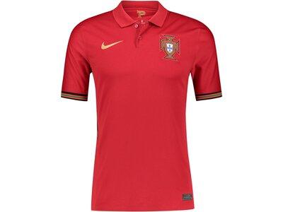 """NIKE Herren Fußballtrikot """"FPF Portugal Stadium Home"""" Kurzarm Silber"""