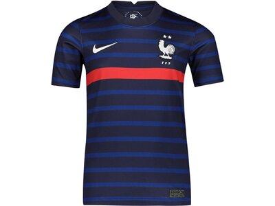 "NIKE Kinder Fußballtrikot ""FFF Frankreich Stadium Home"" Kurzarm Blau"