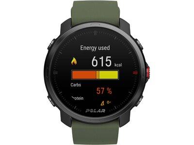 "POLAR Mutisport GPS-Uhr ""Polar Grit X"" Schwarz"