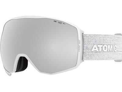 """ATOMIC Skibrille """"Count 360° HD"""" White Weiß"""