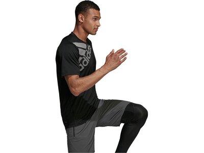 ADIDAS Lifestyle - Textilien - T-Shirts Freelift BoS Graphic T-Shirt Schwarz