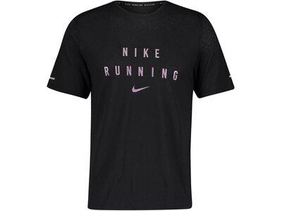 "NIKE Herren Laufshirt ""Nike Dri-FIT Miler Run Division"" Weiß"