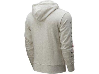 NEWBALANCE Lifestyle - Textilien - Jacken Essentials Icon Kapuzenjacke Beige Grau