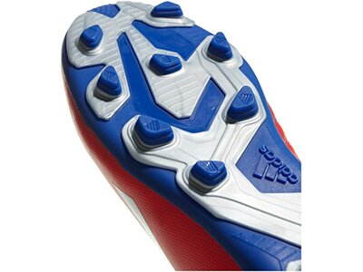 ADIDAS Fußball - Schuhe Kinder - Nocken X 18.4 FxG J Kids Rot
