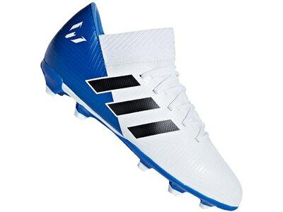 ADIDAS Fußball - Schuhe Kinder - Nocken NEMEZIZ Messi 18.3 FG J Kids Blau