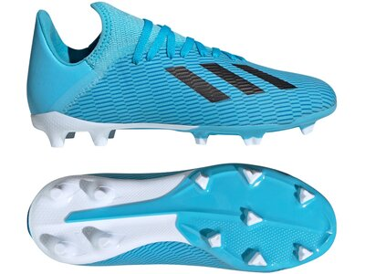 ADIDAS Fußball - Schuhe Kinder - Nocken X Uniforia 19.3 FG J Kids Blau