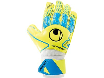 UHLSPORT Equipment - Torwarthandschuhe Soft Advanced Handschuh Blau