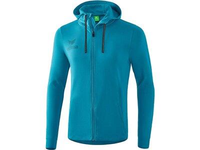 ERIMA Fußball - Teamsport Textil - Jacken Essential Kapuzensweatjacke Kids Blau