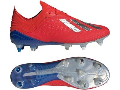 ADIDAS Fußball - Schuhe - Stollen X 18.1 SG Rot