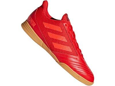 ADIDAS Fußball - Schuhe Kinder - Halle Predator 19.4 IN Sala Kids Rot