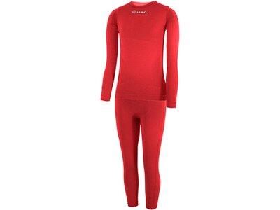 JAKO Underwear - Langarm Underwear Kinderset Rot