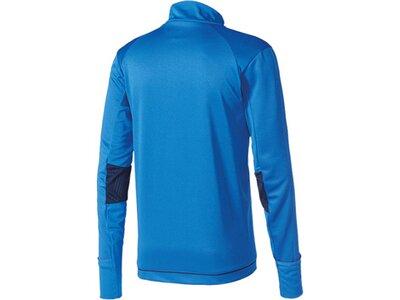 ADIDAS Fußball - Teamsport Textil - Sweatshirts Tiro 17 Trainingstop Dunkel Blau