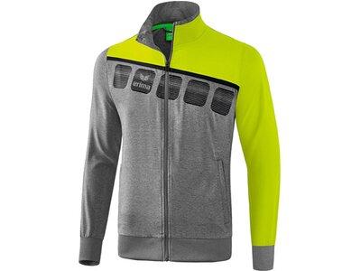 ERIMA Fußball - Teamsport Textil - Jacken 5-C Präsentationsjacke Kids Grau