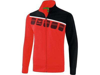 ERIMA Fußball - Teamsport Textil - Jacken 5-C Präsentationsjacke Kids Rot