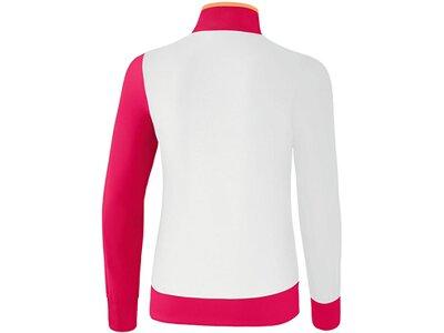ERIMA Fußball - Teamsport Textil - Jacken 5-C Präsentationsjacke Kids Weiß