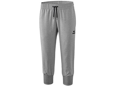 ERIMA Fußball - Teamsport Textil - Hosen Basics 3/4 Hose Damen Grau
