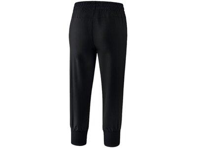 ERIMA Fußball - Teamsport Textil - Hosen Basics 3/4 Hose Damen Schwarz