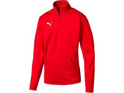 PUMA Fußball - Teamsport Textil - Sweatshirts LIGA Training Fleece Sweatshirt Rot