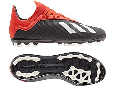 ADIDAS Fußball - Schuhe Kinder - Kunstrasen X 18.3 AG J Kids Braun