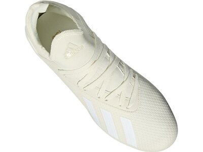 ADIDAS Fußball - Schuhe Kinder - Kunstrasen X 18.3 AG J Kids Grau