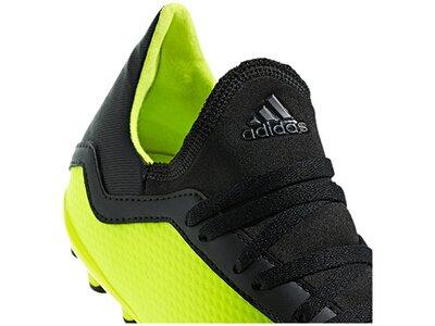 ADIDAS Fußball - Schuhe Kinder - Kunstrasen X 18.3 AG J Kids Weiß