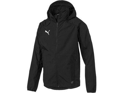 PUMA Fußball - Teamsport Textil - Allwetterjacken LIGA Training Rain Jacket Regenjacke Schwarz