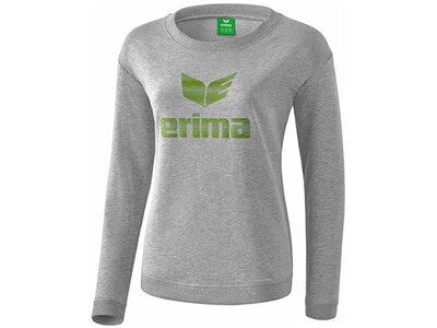 ERIMA Fußball - Teamsport Textil - Sweatshirts Essential Sweatshirt Damen Grau