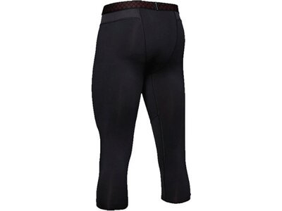 UNDERARMOUR Underwear - Hosen Heatgear Rush 3/4 Leggings Schwarz