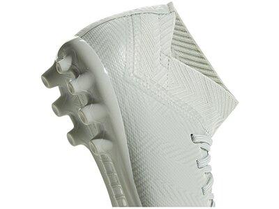 ADIDAS Fußball - Schuhe Kinder - Kunstrasen NEMEZIZ Virtuso 18.3 AG J Kids Silber