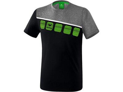 ERIMA Fußball - Teamsport Textil - T-Shirts 5-C T-Shirt Kids Schwarz