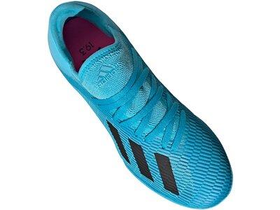 ADIDAS Fußball - Schuhe Kinder - Halle X Mutator 19.3 IN Halle J Kids Blau