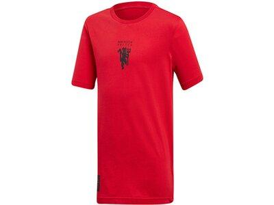 ADIDAS Replicas - T-Shirts - International Manchester United Graphic T-Shirt Kids Rot