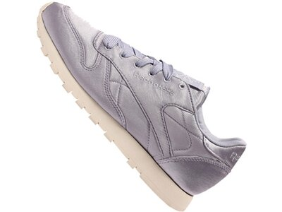 REEBOK Lifestyle - Schuhe Damen - Sneakers Classic Leather Satin Sneaker Damen Silber