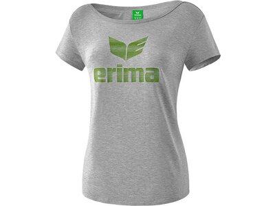ERIMA Fußball - Teamsport Textil - T-Shirts Essential Tee T-Shirt Damen Grau