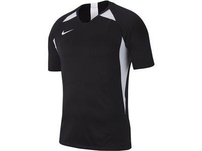 NIKE Herren Short-Sleeve Fußball Jersey M NK DRY LEGEND JSY SS Schwarz