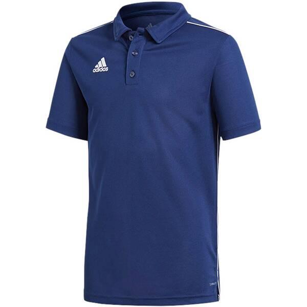 ADIDAS Fußball - Teamsport Textil - Poloshirts Core 18 Poloshirt Kids Dunkel